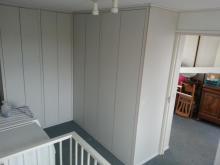 Kamer scheidende kastenwand