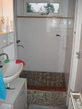 Toiletruimte woonboot voor verbouwing